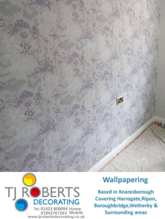 T J Roberts Painter and decorator Harrogate , Knaresborough