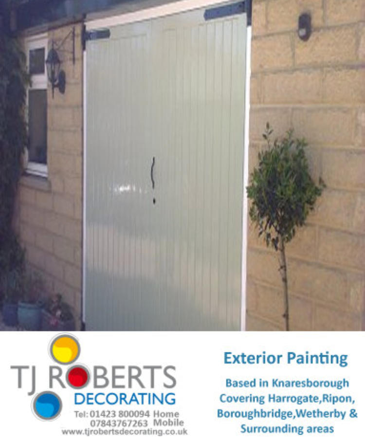 T J Roberts Decorating Painter and Decorator Harrogate , Knaresborough , York